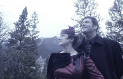 Happy married couple, Banff, Alberta